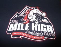 420 Colorado T-shirt from GREENOMIX navy blue (sm-xl) The Mile 9961bbf3f76