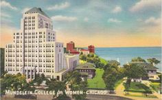 CHICAGO – MUNDELEIN COLLEGE FOR WOMEN – SHERIDAN ROAD – c1950