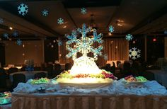 Annual Texas Tech University Holiday Open House with President Nellis & Mrs. Nellis    |  Ice Sculpture - by Lubbock Ice Chef - Robert Tuthill  |   Top Tier Catering   |   McKenzie Merket Alumni Center    |    http://lubbockicechef.com/