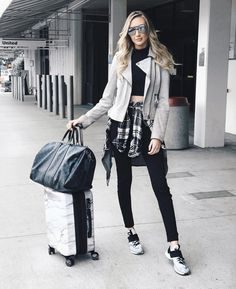 """16.8k Likes, 145 Comments - Carly Cristman (@carlycristman) on Instagram: """"I'm not a blogger I just post a lot ✌️ [first flight of four this next week- here we go! ✈️]"""""""
