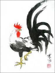 """Résultat de recherche d'images pour """"chinese painting rooster"""""""