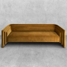Ochre freestanding banquette for the breakfast room Art Deco Furniture, Sofa Furniture, Furniture Design, Art Deco Sofa, Modular Furniture, Furniture Showroom, Refurbished Furniture, Furniture Storage, Wooden Furniture