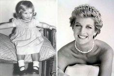 Royal Baby Photo Gallery!!! Bebe'!!! Diana was a precious little girl!!!
