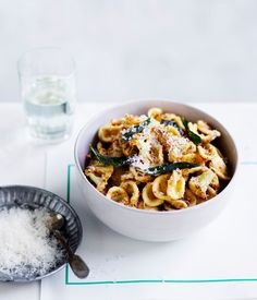 213 best quick meal ideas images on pinterest recipe search orecchiette with cauliflower and walnut brown butter pesto forumfinder Gallery