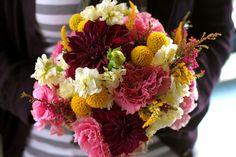 Similar bouquet close up