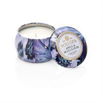 Voluspa® Mini Decorative Tin Candle - Apple & Blue Clover
