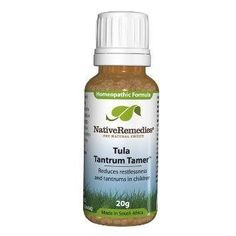 Tula Tantrum Tamer - a natural herbal supplement to deal with temper tantrums.