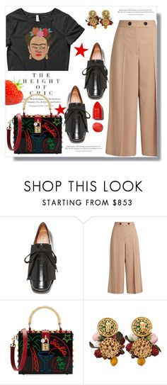 """""""Frida"""" by queenvirgo ❤ liked on Polyvore featuring Marni, Proenza Schouler, Dolce&Gabbana, NARS Cosmetics and fridakhalo"""