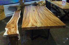 Freeform dining table - acacia