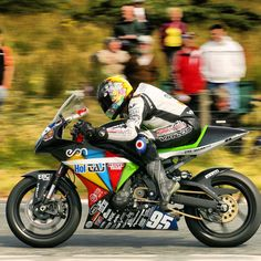 Ulster Grand Prix    Maria Costello MBE onboard her Supertwin  woman on a motorcycle