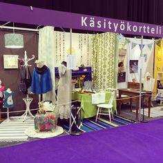 Käsityökorttelin näyttely Suomen kädentaidot messuilla Tampereella
