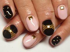 Nail Salon MUU (mu) | ribbon nail studs.
