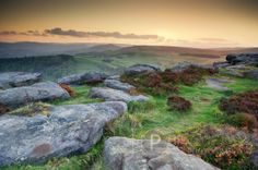 Carhead Rocks Sunset (Derbyshire)