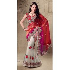 @ $139 Partywear lehenga saree with FREE shipping offer.
