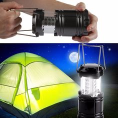 Portable Ultra Bright LED Camping Lantern