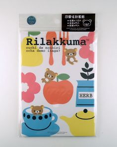 San-X Rilakkuma bear letter set 4718733168671