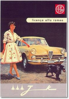 FNM 2150 by Alfa Romeo - brochure | Brasil Alfa Romeo Logo, Alfa Romeo Cars, Classic Motors, Classic Cars, Sport Cars, Race Cars, Swiss Cars, Car Posters, Car Advertising