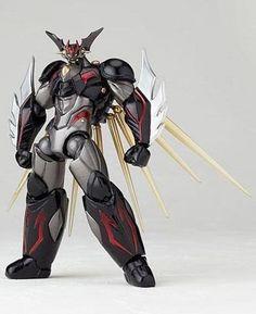 Revoltech Getter Robo: Getter Robo ARC #099 (Black Ver) Action Figure - HobbyStuf