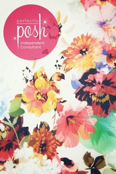 Perfectly Posh Icon wallpaper (watercolor floral)