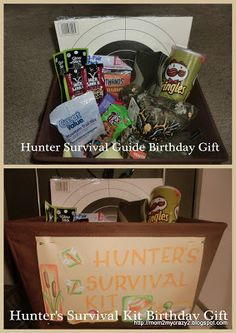Hunter's Survival Kit - Birthday Gift for the Hunter