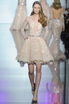 Zuhair Murad - Spring 2015 Couture - This gorgeous fit and flare dress can get in my wardrobe anytime!