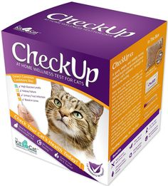 Coastline Global CheckUp Kit At Home Wellness Test for Cats, Urine Collection and Detection of Diabetes, Kidney Conditions, UTI, Blood in Urine ** Discover this special cat product, click the image : Cat Health and Supplies