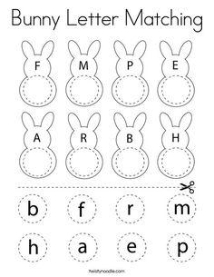 Teaching Abcs, Preschool Learning Activities, Learning The Alphabet, Easter Activities, Preschool Lessons, Teaching Kindergarten, Preschool Curriculum, Alphabet Activities, Easter Worksheets