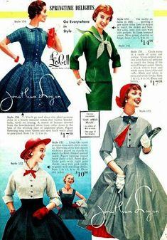 50s Dresses, Dance Dresses, Vintage Dresses, Vintage Outfits, Mode Vintage, Vintage Ladies, 1940s Fashion, Vintage Fashion, Jackie Kennedy