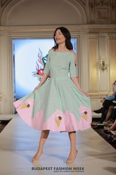 icecream dress, vintage inspired dress, fashion designer dress, rockabilly fashion, pinup fashion,  fifties style
