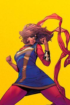 Kamala Khan in Ms Marvel #13