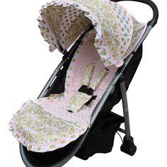 Sweet Stroller liner cover stroller canopy stroller accessories | Sweet Stroller Covers Liners Accessories Custom Nursery Bedding