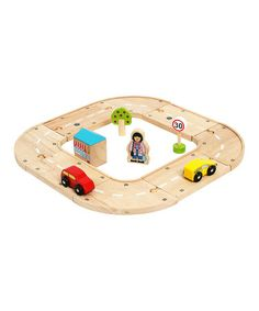 Take a look at this My First Roadway by Bigjigs Toys on #zulily today!