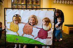 Photo booth idea #bambinibirthday