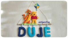 Winnie the Pooh - felt name banner https://www.facebook.com/sanjarilica