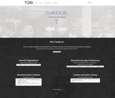 Tuxedojs website