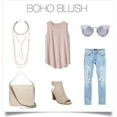 Beautiful in blush with boho-style vibes!