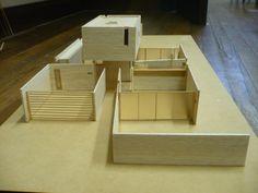 Bunker House,Model