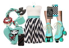 """Summer Roller Skating When All Else Fails - Skate"" by cricketdiane ❤ liked on Polyvore featuring rumisu, Taylor and Tessier, Chicnova Fashion, Christopher Kane, Blu Bijoux, Roberto Cavalli and Casetify"