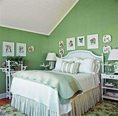 decoracion en blanco y verde turquesa - Buscar con Google