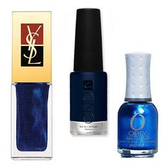 Reader's Pick: This Season's Best Nail Colors - 136 Fans Would Try...Sapphire from #InStyle
