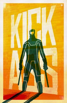 Kick Ass alternative poster by Doaly