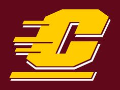 CMU - Central Michigan University My nephew will be attending and playing baseball next fall! Central Michigan University, University Logo, Nfl Logo, Team Logo, How Much Snow, Stadium Cushions, Us Universities, Behavioral Science, Sports Art