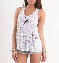 Tribal Drippy Tank