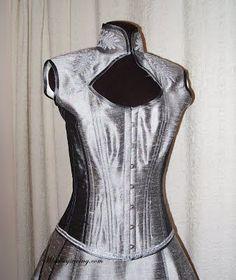 Steampunk Corset, Peplum, Vest, High Neck Dress, Costumes, Tops, Dresses, Women, Fashion