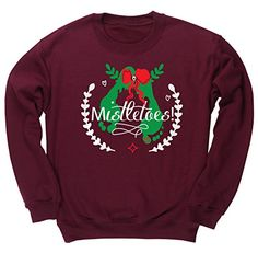 HippoWarehouse Mistletoes unisex jumper sweatshirt pullover HippoWarehouse http://www.amazon.co.uk/dp/B01675226Q/ref=cm_sw_r_pi_dp_ehKfwb07K67AY