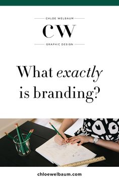 When people find out that I offer brand design I often get asked: what  exactly is branding? I feel like the phrase 'branding design' is often used  as a fancy way of saying logo design, however to me a brand design is so  much more than that!It is hard to explain in a nutshell, so I'd like to  share my thoughts on what it entails below, along with a description of my  design process so you can see it in action.  Brand design is relevant to business owners at all stages, whether you are…