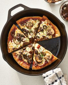 How To Make Stovetop Skillet Pizza