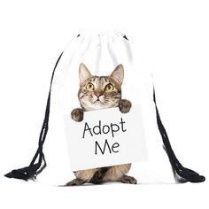 ♥ String Backpack - Adopt me kitten ♥