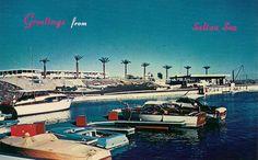 Vintage Salton Sea Postcards