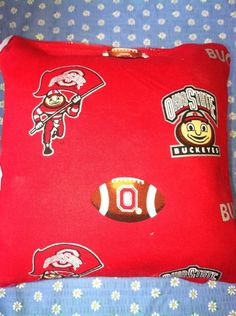 Ohio State University Cornhole Bags by SkyPixieDesigns on Etsy
